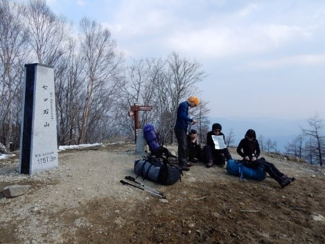 1年生だけの山行は今回が初めてである。