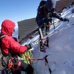 雪上訓練合宿(富士山)