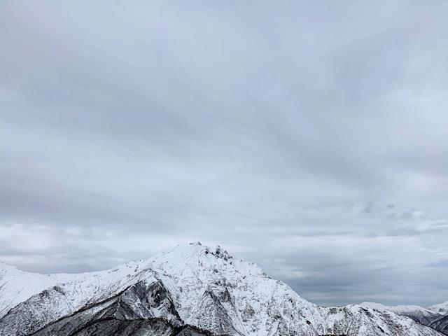 山頂付近の写真