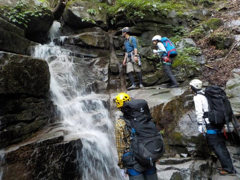 滑棚沢の滝